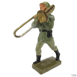 Lineol Trombone player marching