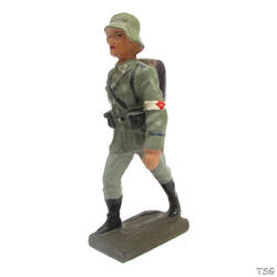 Lineol Ambulance soldier marching