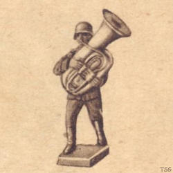 Lineol Tuba player marching