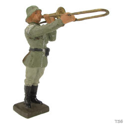 Lineol Trombone player standing