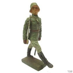 Lineol Officer in goose step marching
