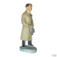 Adolf Hitler in civilian clothes by Hausser